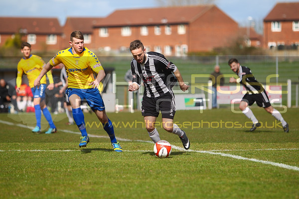 1st team v Coalville Town (away) 11 - 04 - 15