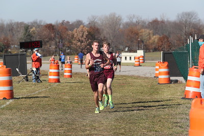 D4 Boys at 2 Miles Section 1 - 2020 MHSAA LP XC