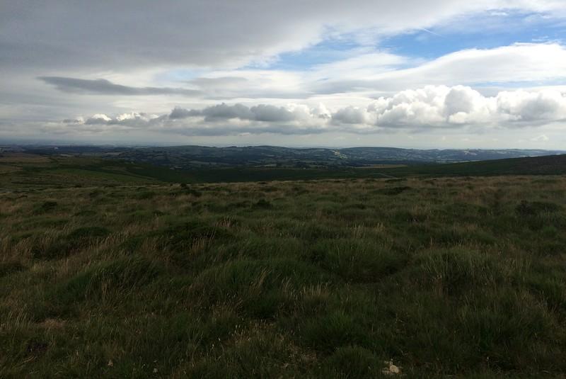 Endless views of Dartmoor National Park