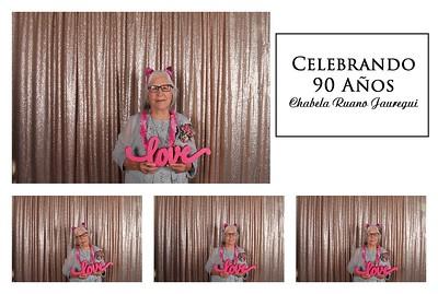 Chabela's 90th Birthday