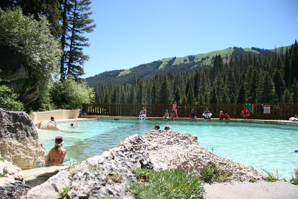 . The pool at Granite Hot Springs is a nice spot for the kids and another relaxing option in the Jackson Hole area.  Kyle Wagner, The Denver Post