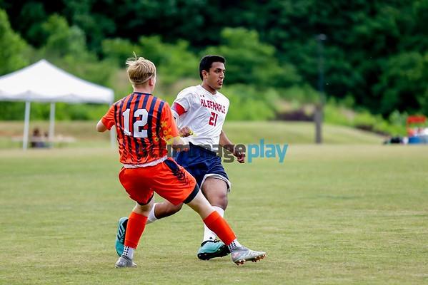 Albemarle versus Orange boys soccer 2021