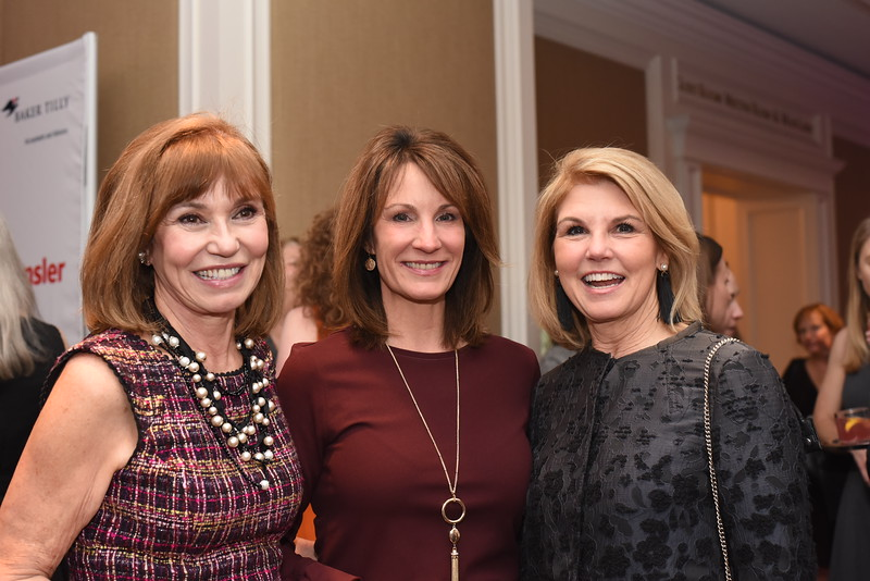 Molly Decker, Mary Claire, Alice Haase. 13th Annual Women & Wine Connection for a Cure. April 18, 2018. The Ritz-Carlton Tysons Corner. Amanda Warden. .JPG