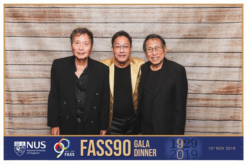 NUS FASS 90th Anniversaryl | © SRSLYPhotobooth.sg