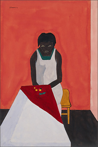 "Jacob Lawrence, ""Most of the people are very poor."" (1943)"