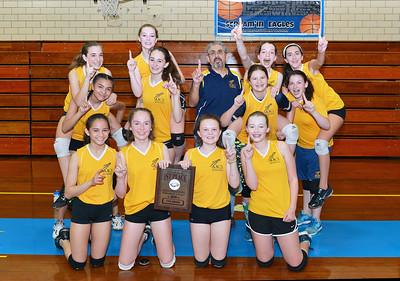 7th Grade Volleyball 2015