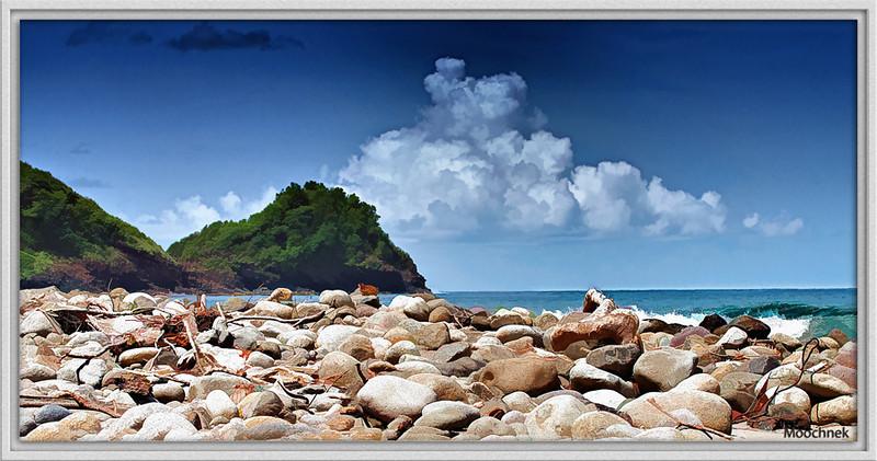 A Rocky Shoreline......