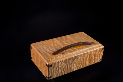 Wood Boxes by Val Dziagwa