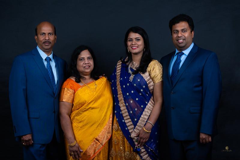 Krishna's Family Portraits