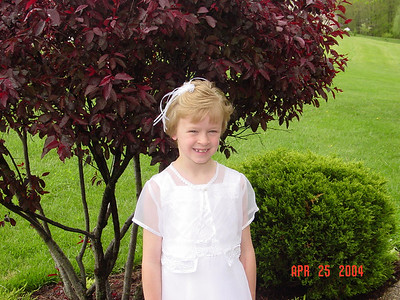 2004 Katelyn First Communion