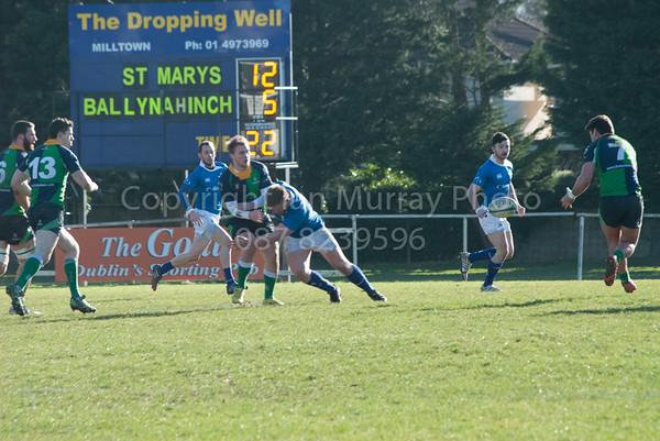 1st XV v Ballynahinch (H) 21.02.2015 by Ian Murray