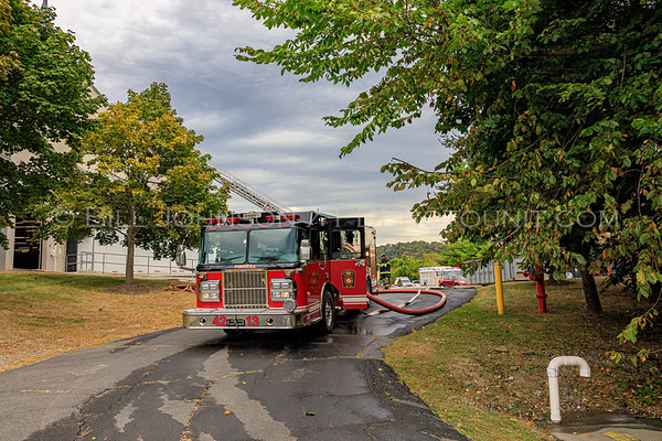 Smoke in the structure - GAP Distribution Center - Merritt Blvd. - Village of Fishkill Fire Department - 9/26/2019