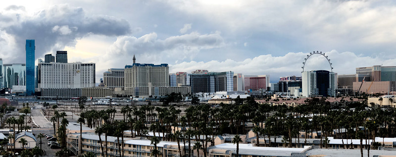 Panorama of the Las Vegas Strip