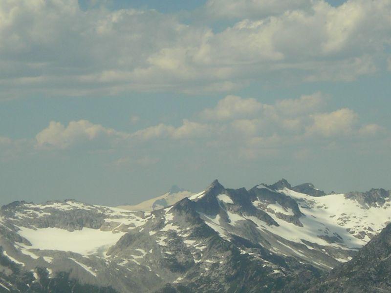 Mt. Shuksan in the back.