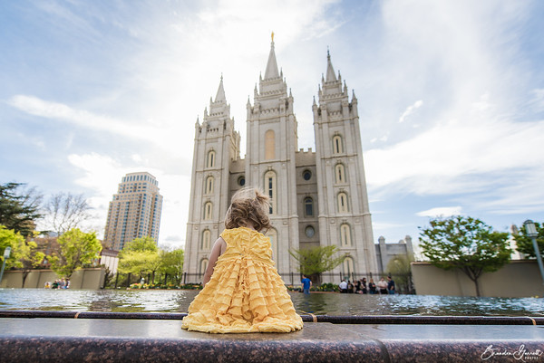 Easter at Temple Square