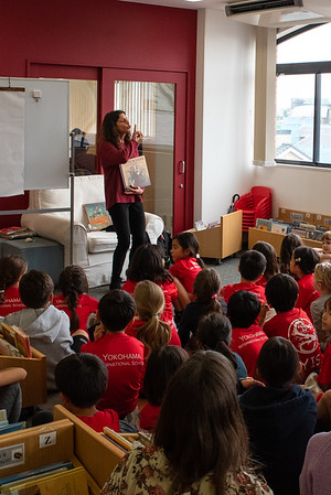 Visiting Author - Storytelling with Marissa Moss