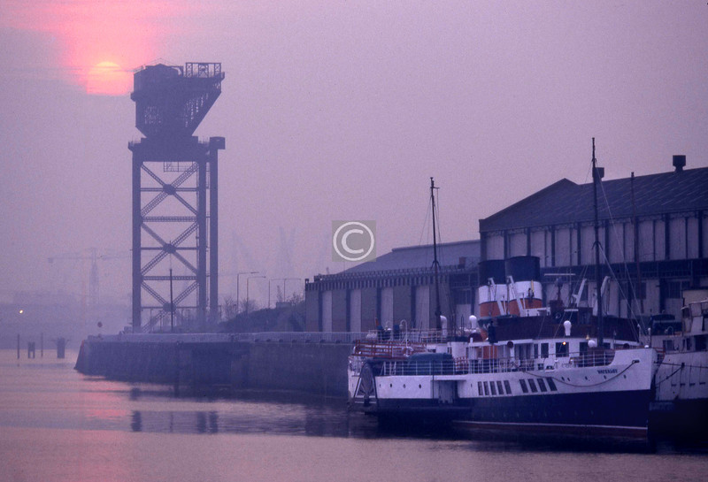 The Waverley at Anderston Quay.