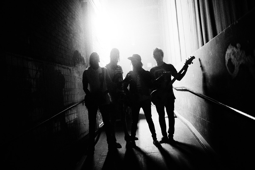 Pierce The Veil backstage at The Warehouse live in Houston, Texas