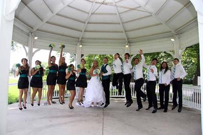 Steffanie & Daren Wedding Party