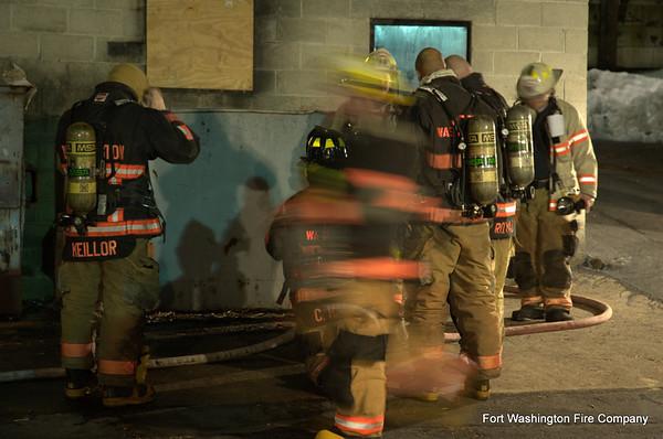 Burn Drill - March 8, 2010