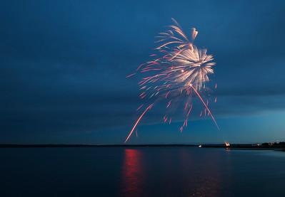 Wabamun Fireworks 2015