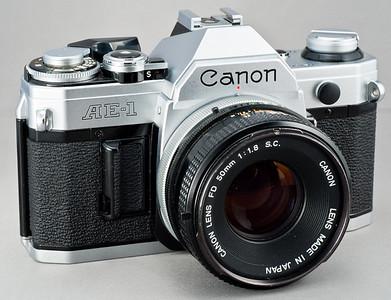 Canon AE-1 - 1976