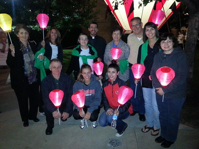 Community Life - Light The Night Walk - October 10, 2013