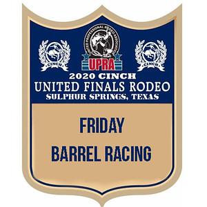 UPRA Finals Friday Barrel Racing
