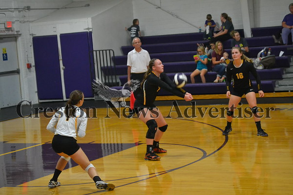 10-19 Lenox - Murray volleyball