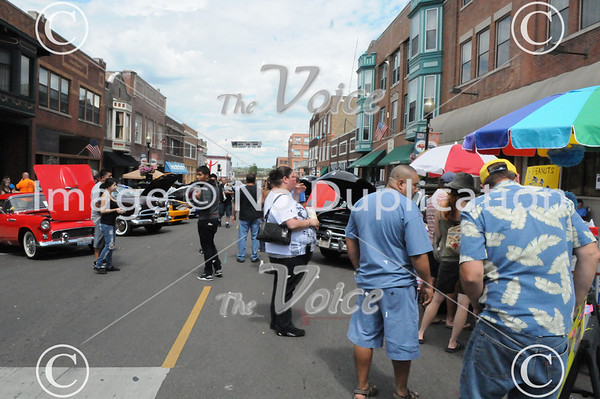 Aurora, IL La Salle Street Auto Show 8-19-12