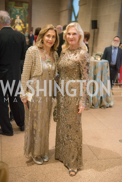 Jillian Sackler, Susan Pillsbury, Freer Sackler, Gallery of Art, Empresses of China, March 27, 2019. Photo by Ben Droz.