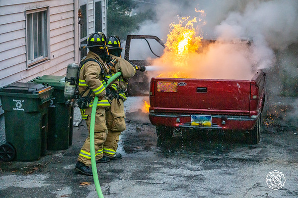 Car Fire - Reed St - Caln Township