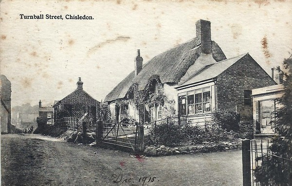 Chiseldon old postcards