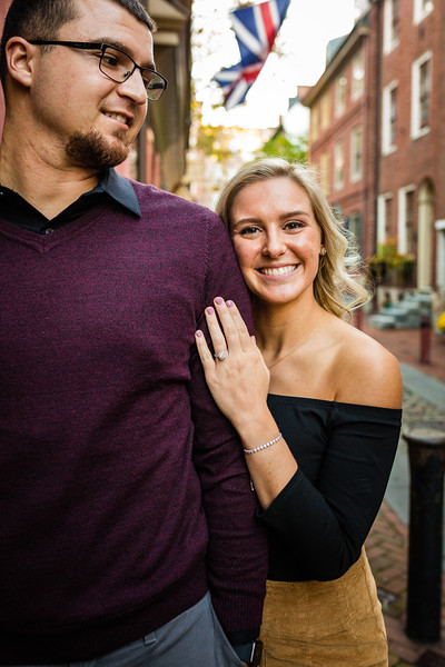 MICHELLE AND NICK - OLD CITY ENGAGEMENT SESSION - 31.jpg