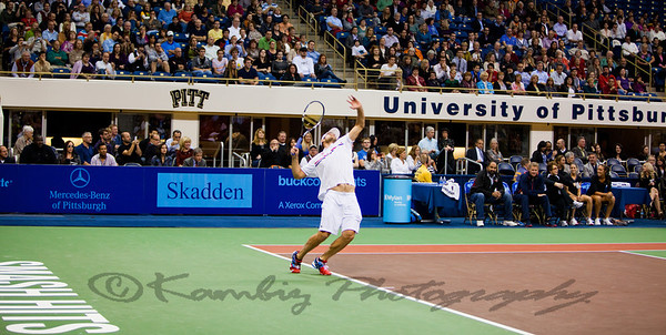 2012 - World Team Tennis Smash Hits at Peterson Event