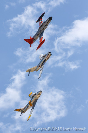 JETS - Planes of Fame 2015 Airshow - Chino, CA
