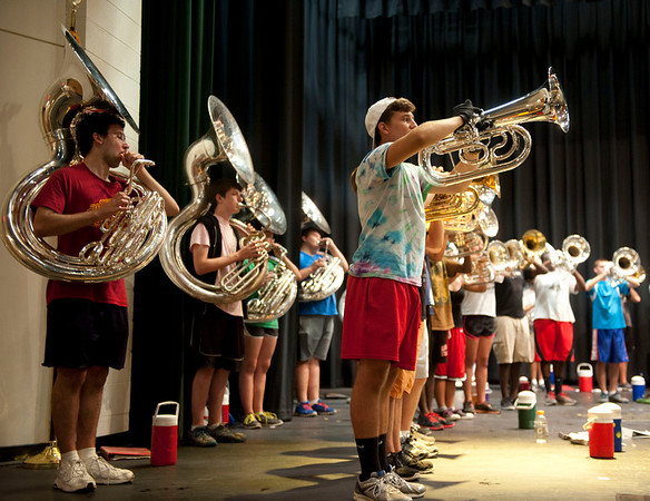 2013-08-07: Band Camp-Day 3