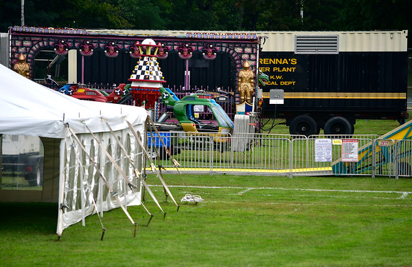 9/19/2018 Mike Orazzi | Staff Mum Festival set up in Bristol Wednesday.