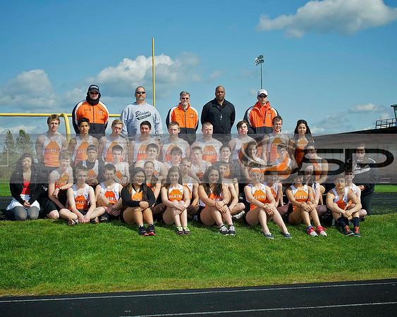 2013 Blaine High School Track