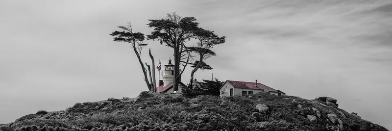 Battery Lighthouse,  panorama