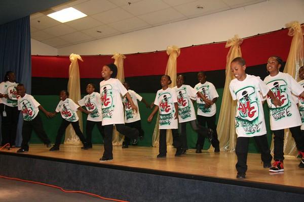 MARCUS GARVEY SCHOOL PRESENTS SONG DANCE and SPOKEN WORD