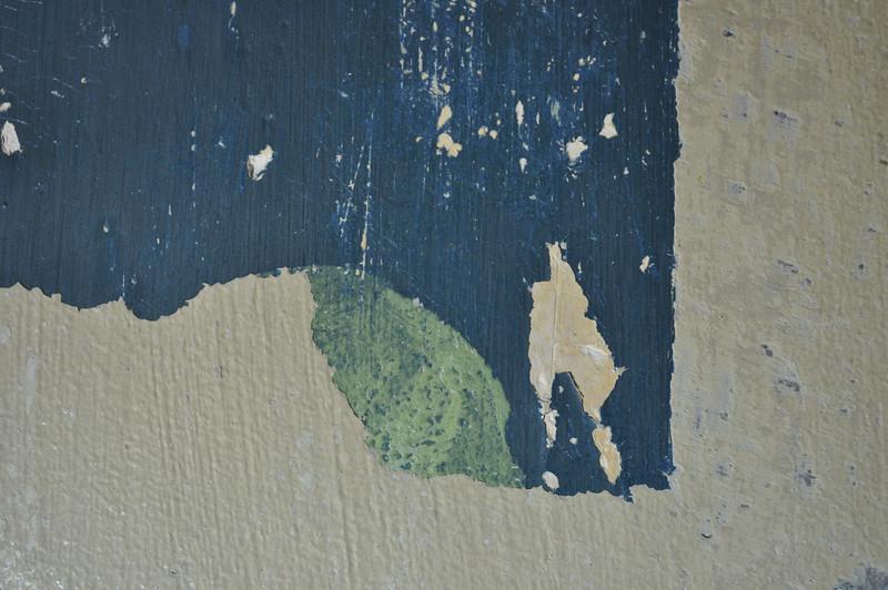 Detail, Säule, Zustand während Freilegung. Sequenz 2 DSC_0150