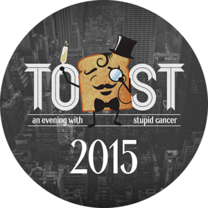 Toast 2015: An Evening With Stupid Cancer