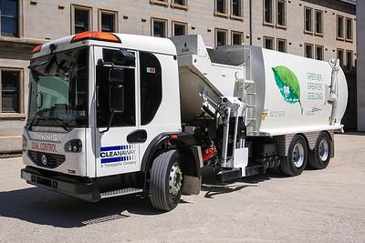 Cleanaway Trucks