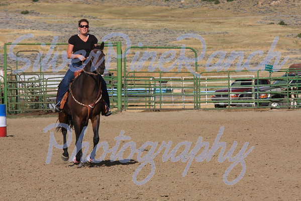 Meeteetse, WY. Barrel Racing Sept 10