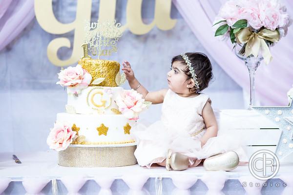 Gia's First Birthday