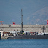 HMS Astute at berth in Gibraltar