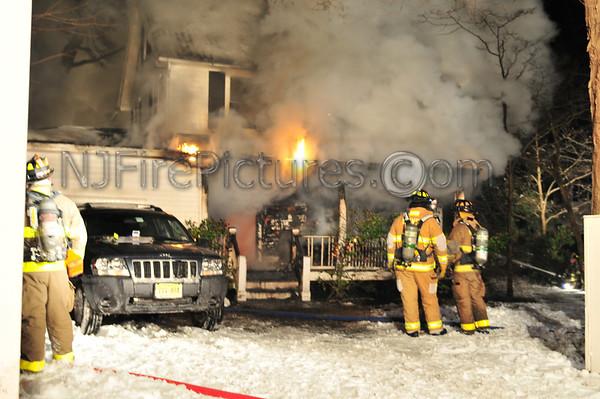 New Vernon, NJ House Fire 7 Featherbed Lane 12/21/09