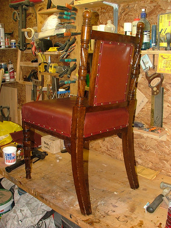 Manchester City Council Chair Restoration