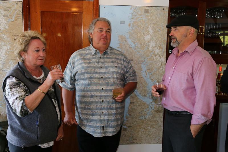 Debbie, Jim and Captain Eric.